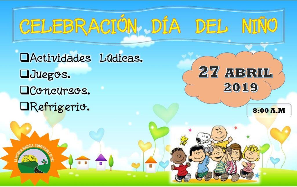 Invitación Al Día Del Niño Alcaldía Municipio De La